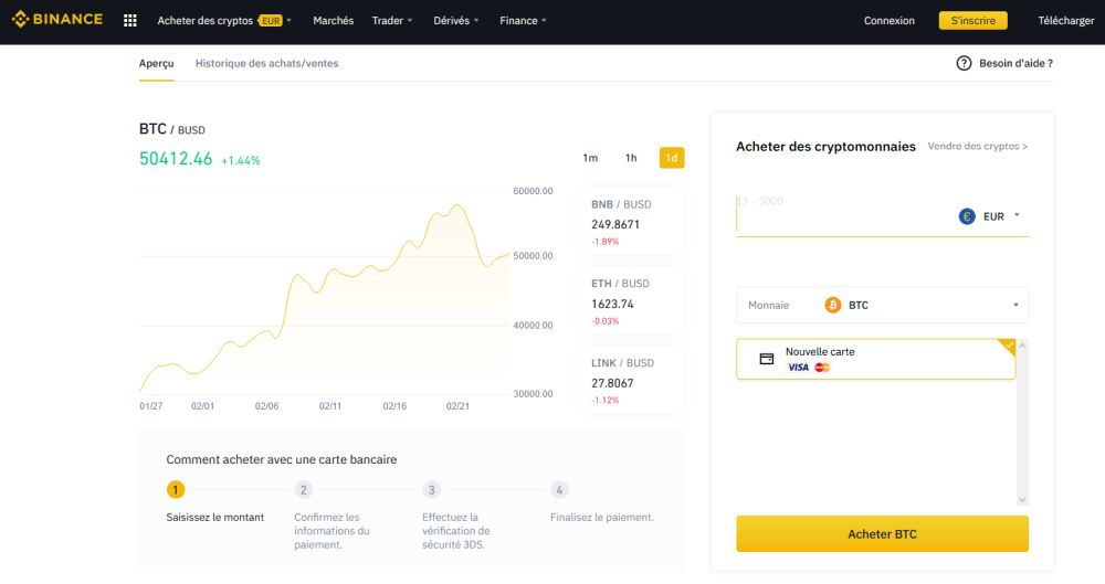 Plateforme cryptomonnaie : comment acheter du Bitcoin