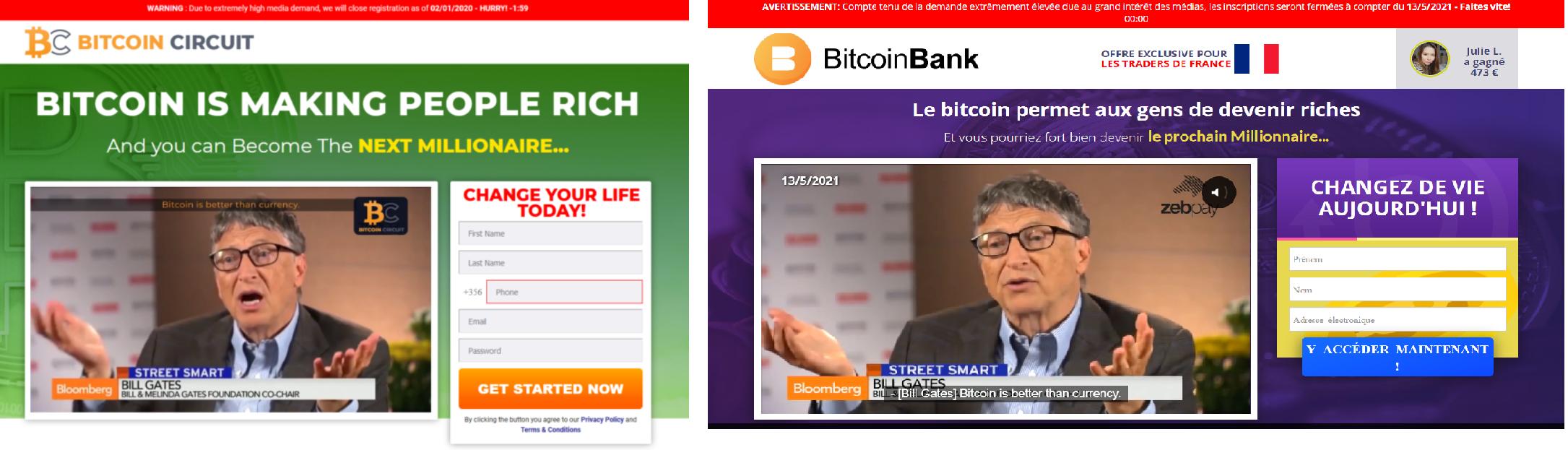 Bitcoin Circuit et Bitcoin Bank
